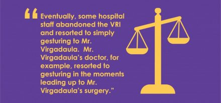 The federal ruling from Sunderalnd et al. v. Bethesda Hospital Inc. has serious implications for healthcare providers using Video Remote Interpreting.