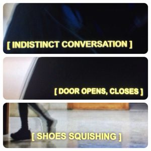 Closed captions are another, more recent example of subtitle technology.