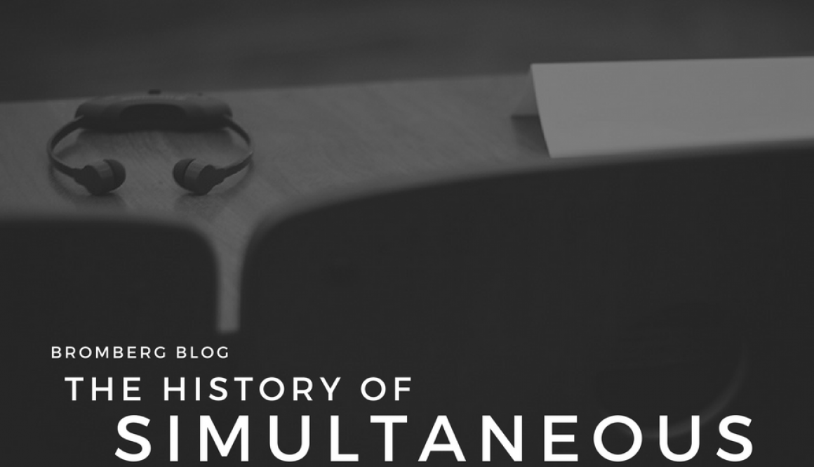 The History of Simultaneous Interpreting Equipment