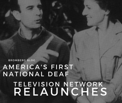 America's First national Deaf Television Network Re-launches