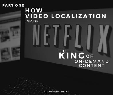 Video Localization Netflix