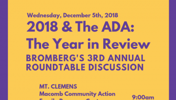 2018 & The ADA: The Year in Review